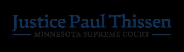 Justice Paul Thissen